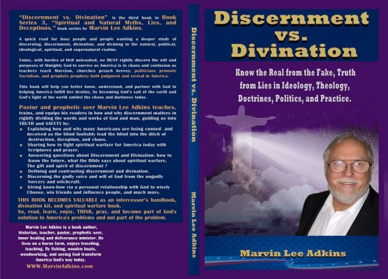 Discernment vs Divination full cover revision without isbn box