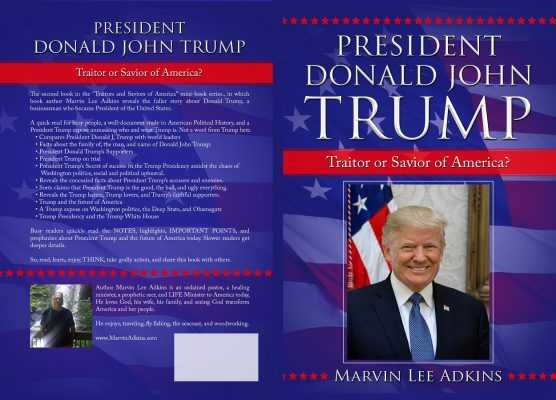 NEW BOOK6 JPG President Donald John Trump FULL COVER